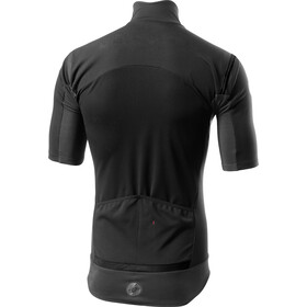 Castelli Gabba Rain Or Shine Kurzarm Trikot Herren light black/reflex